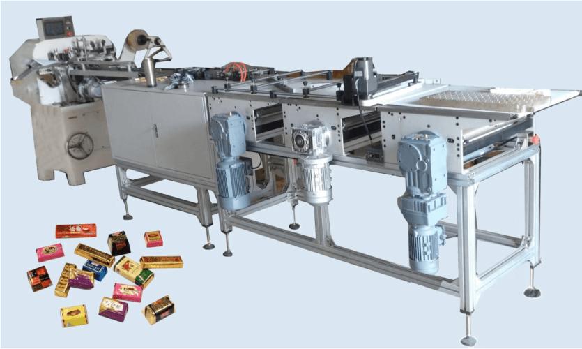 Máy đóng gói gấp kẹo chocolate SC-2012