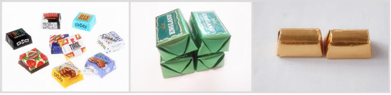 Đóng gói kẹo dẻo, thỏi, các dạng đặc biệt