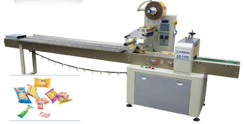 Máy đóng gói bánh quy, kem cây và các sản phẩm có kích thước tương tự