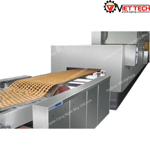 Dây chuyền sản xuất bánh quy 680 wenva