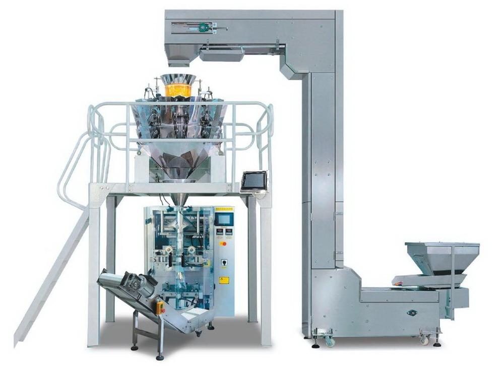 Máy đóng gói bim bim, các sản phẩm dạng hạt, bột… dùng cân điện tử