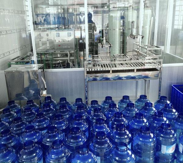 dây chuyền sản xuất nước tinh khiết