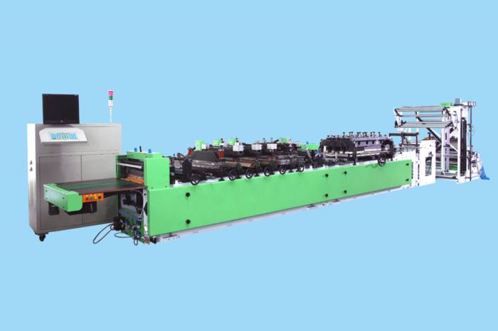 Máy làm túi hai chức năng hàn ba biên-hàn bụng GZSF-600A